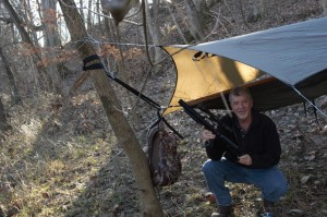camping alone with your air rifle