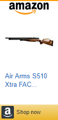 Air Arms S510 Xtra FAC Sidelever PCP Air Rifle - Caliber: 0.22
