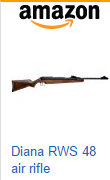 Diana RWS 48 Air Rifle, TO6 Trigger air rifle