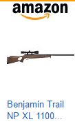Crosman Benjamin Trail NP XL 1500 .177 Caliber Nitro Piston Air Rifle with Hardwood Stock Includes 3-9 X 40mm Scope
