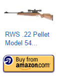 RWS Model 54 .22 Air Gun Combo 4X32 Scope w/Mount
